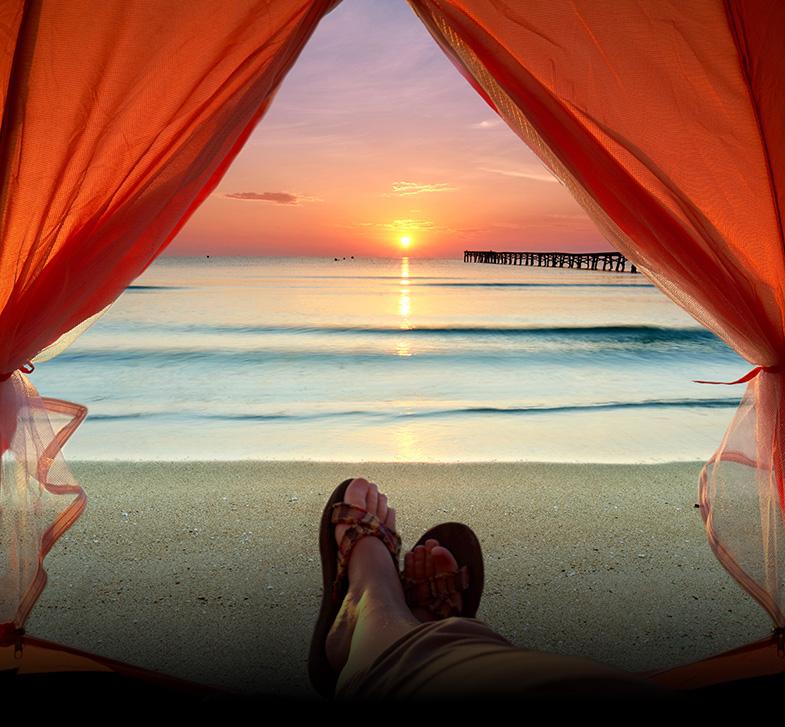 Campings en bord de mer