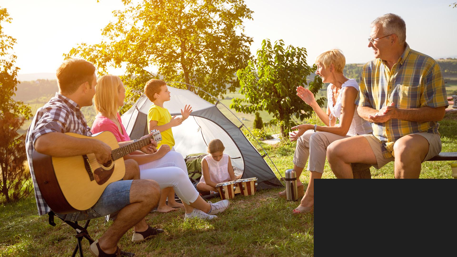Sejour au camping
